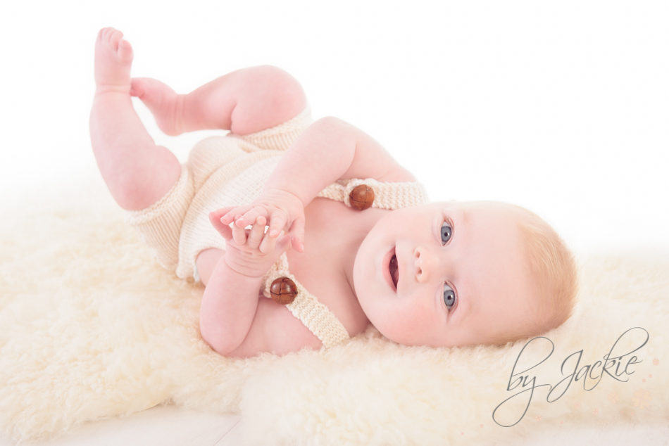 Photo of a three month old baby By Jackie Photography near Howden