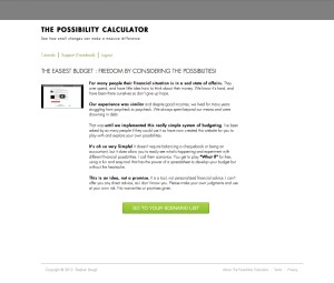 The Possibility Calculator