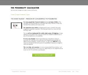The Possibility Calculator